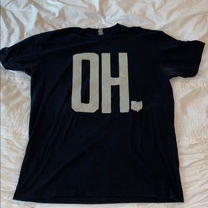"""Ohio """"O-H"""" tee"""